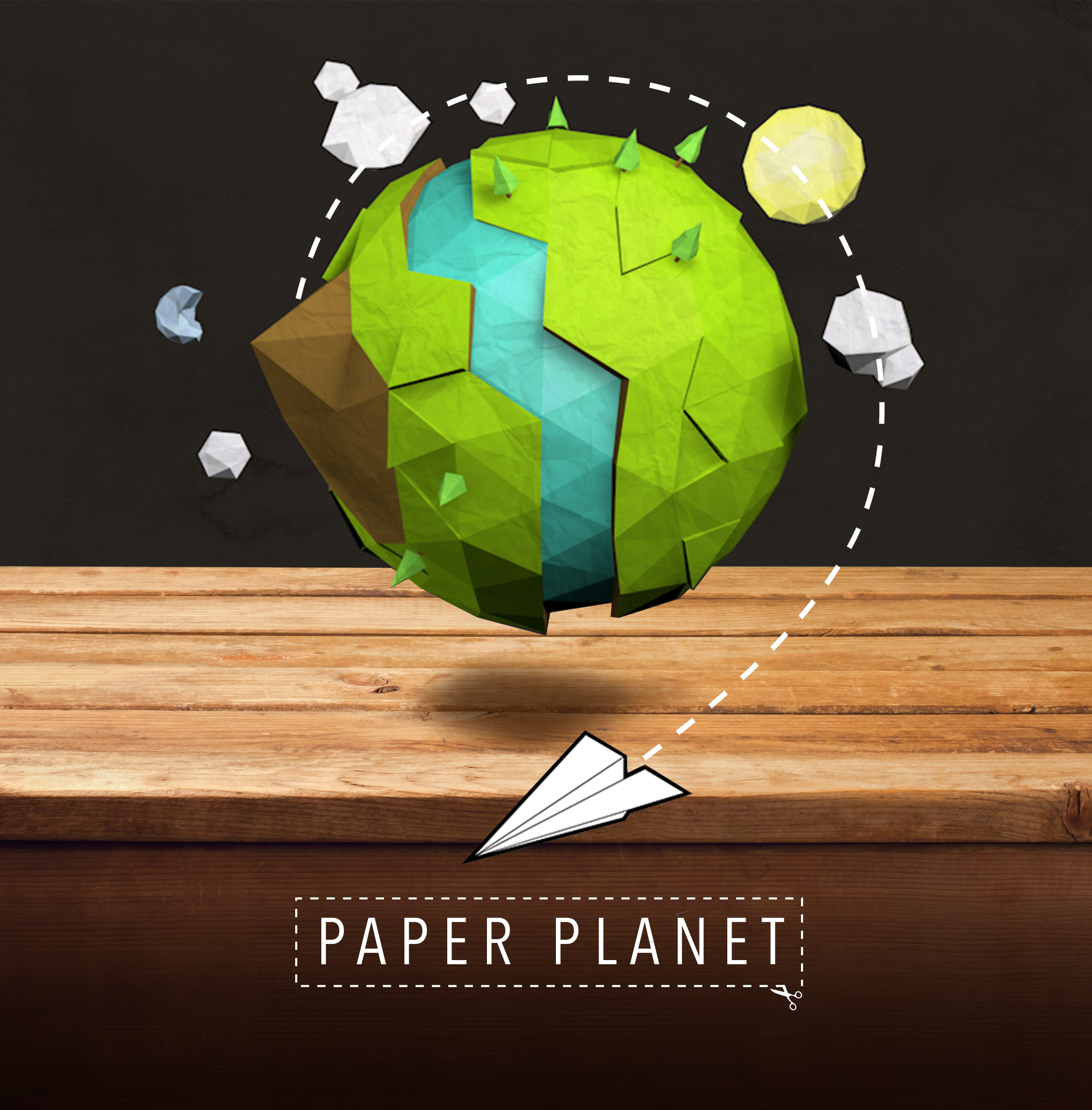 Paper planet – Rory McGinnity